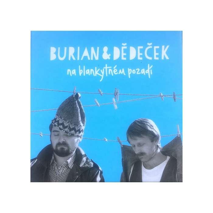 Burian & Dědeček na blankytném pozadí